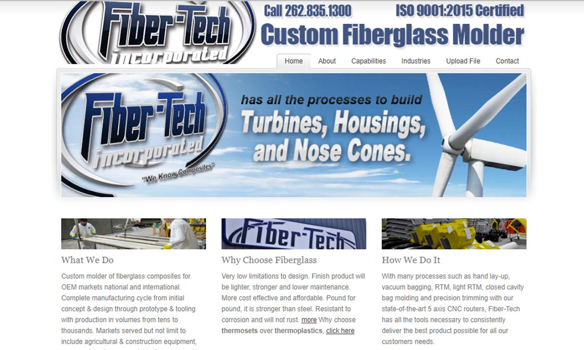 Fibertech, Inc.