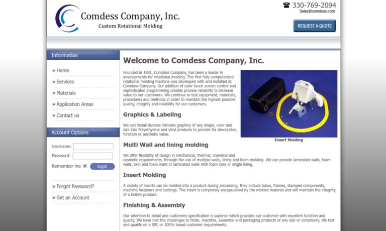 Comdess Company, Inc.
