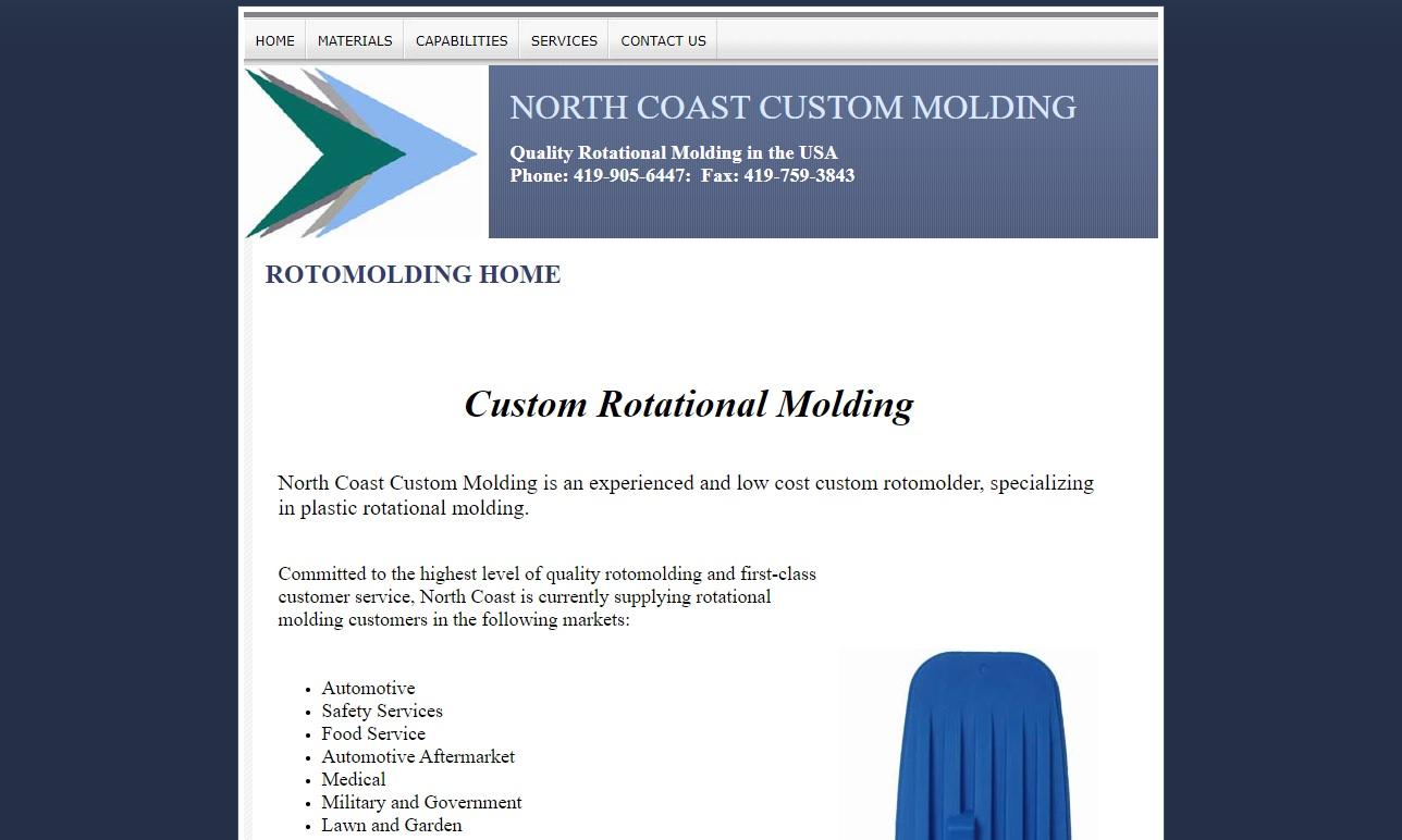 North Coast Custom Molding, Inc.